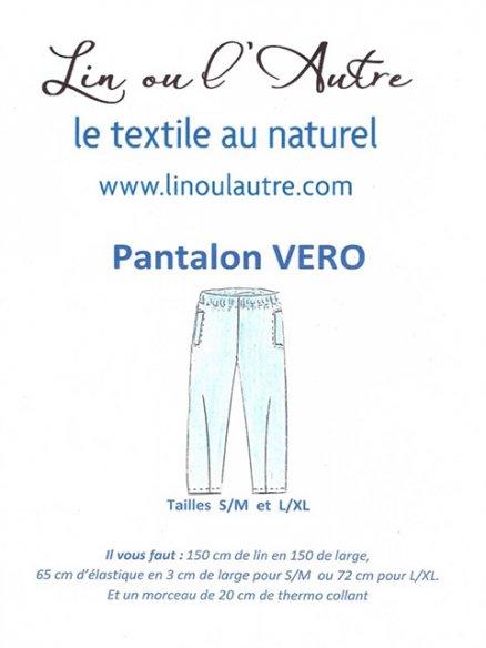 Patron Pantalon Vero
