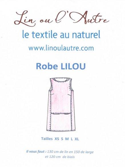 Patron robe Lilou