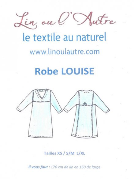 Patron robe Louise
