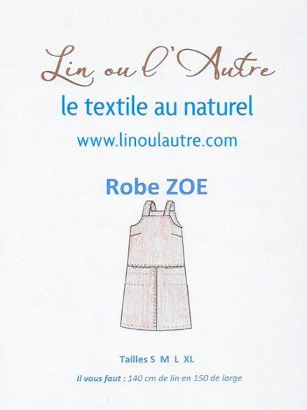 Patron robe Zoé