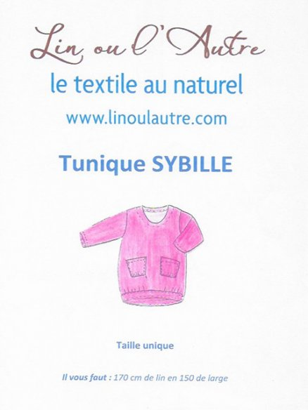 Patron tunique Sybille