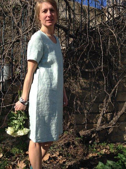 Robe Margot manches courtes