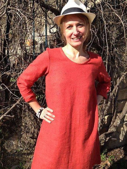 Patron Haut Flora-Robe Margot