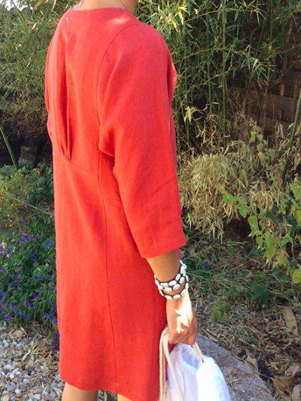 Patron robe Louise