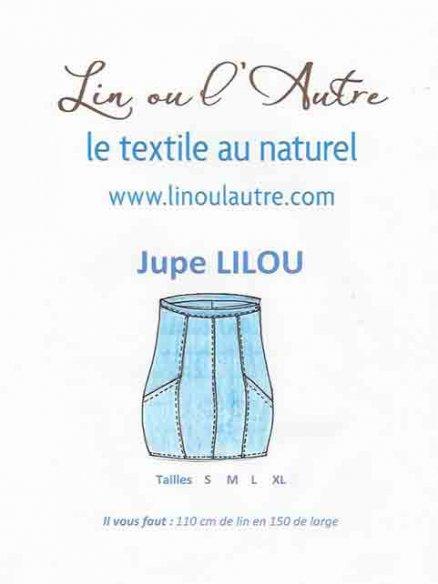 Patron Jupe Lilou