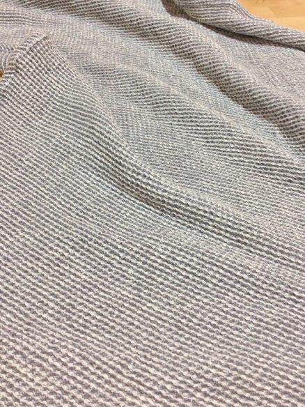 Serviette de bain Gris Chiné 100x155 cm
