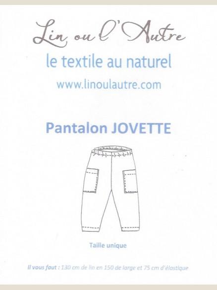 Patron Pantalon Jovette