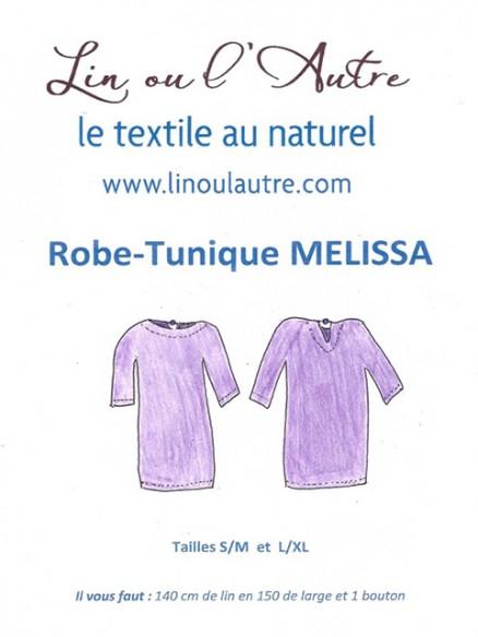 Patron Robe-tunique Melissa