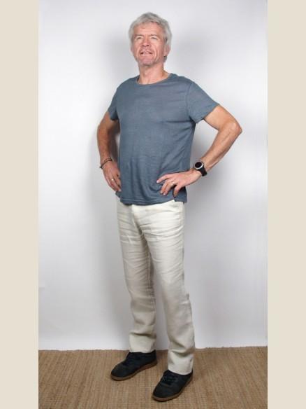 Pantalon Homme en Lin