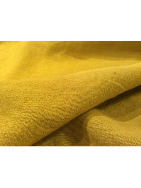 lin ou l 39 autre lin lav jaune curry tissu au m tre 40 coloris. Black Bedroom Furniture Sets. Home Design Ideas