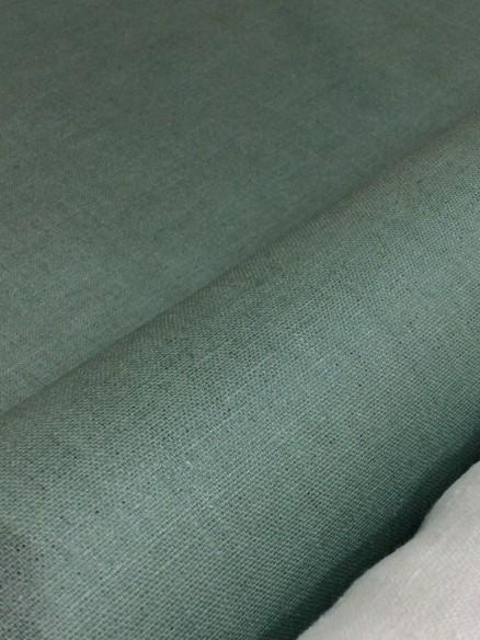 Lin enduit vert celadon