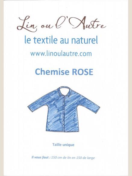 Patron Chemise Rose