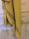 Torchon Lin Absintheà rayures noires