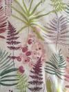 Lin imprimé Fleur du Japon Rose
