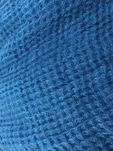 Serviette de bain Bleu Chiné 70x100 cm