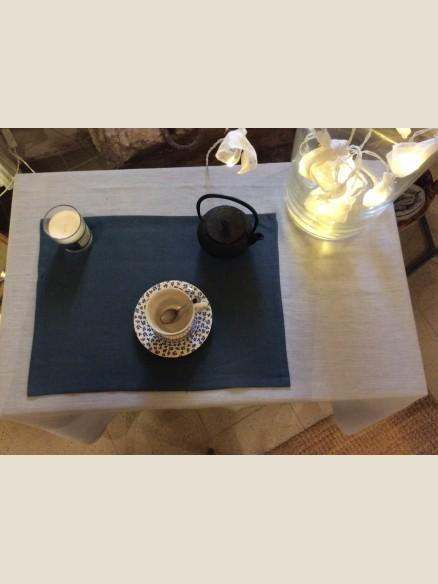 SET DE TABLE EN LIN LAVE