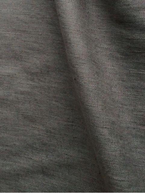 lin ou l 39 autre lin lav gris acier tissu au m tre de. Black Bedroom Furniture Sets. Home Design Ideas