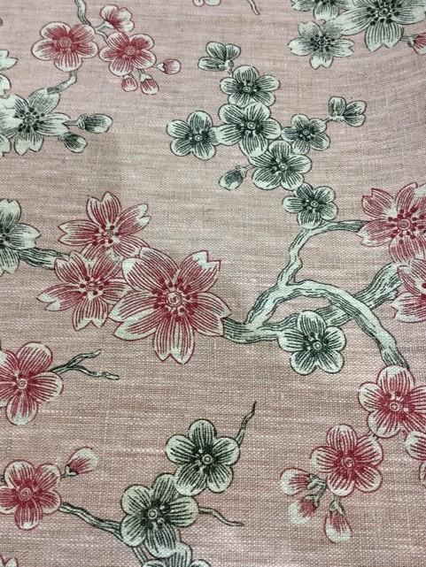 fleur japonaise rose